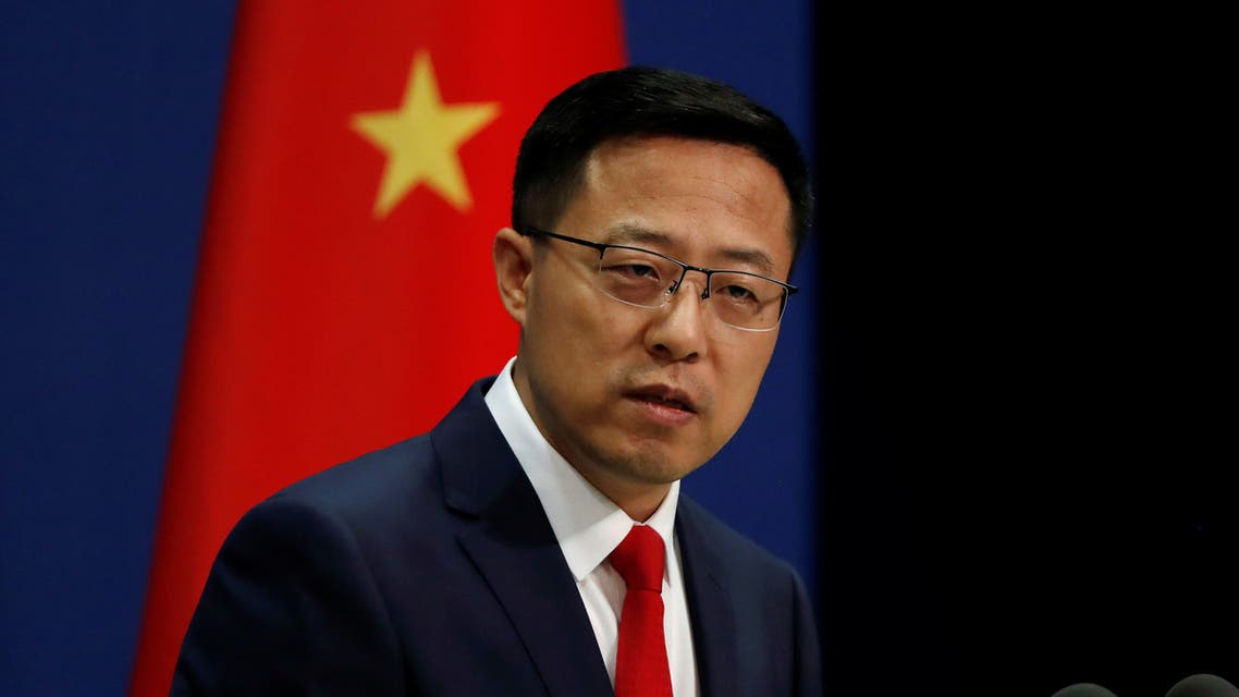 Chinese Foreign Ministry spokesman Zhao Lijian attends a news conference in Beijing, China September 10, 2020. (File photo: Reuters)