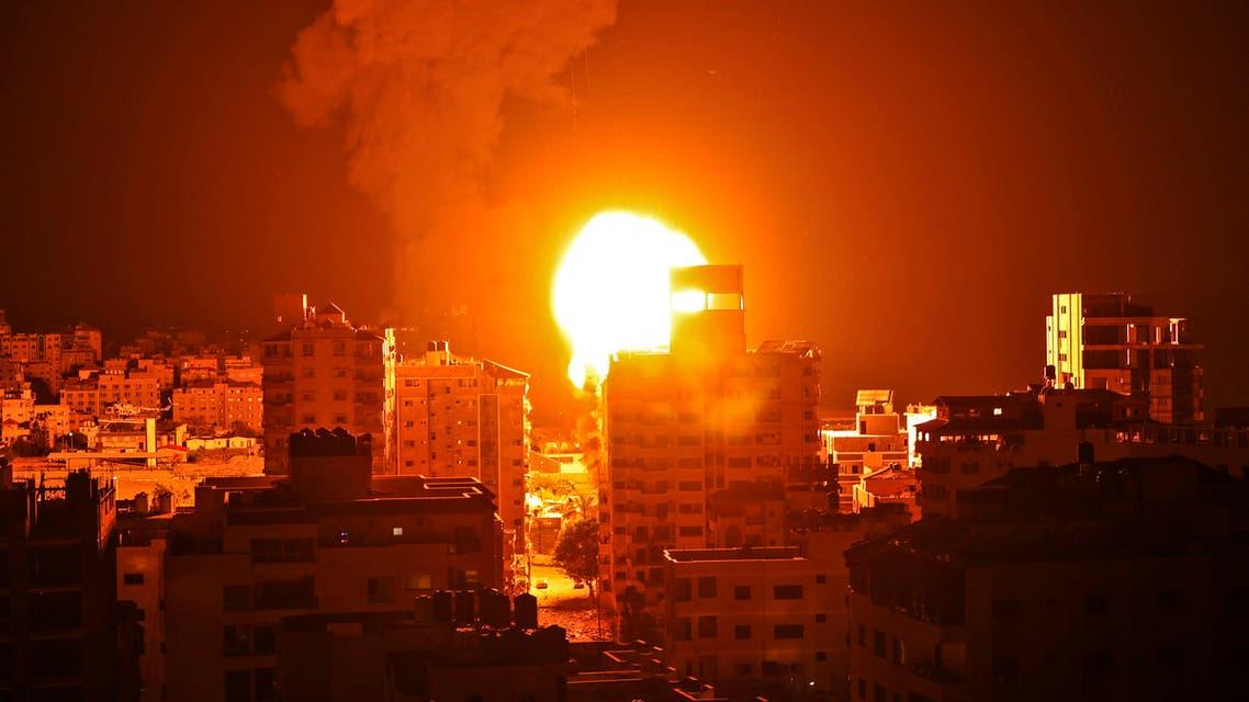 من الغارات الإسرائيلية على غزة 3