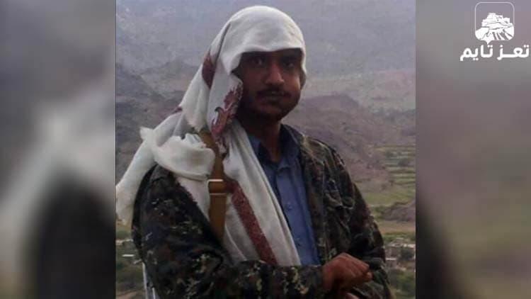 صورة نشرتها مواقع يمنية للقيادي الحوثي عزت العزي عبدالنور