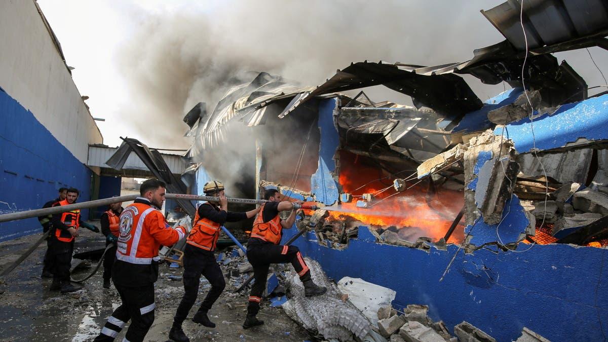 إسرائيل تواصل القصف الجوي والبري لغزة.. والقتال يدخل أسبوعه الثاني
