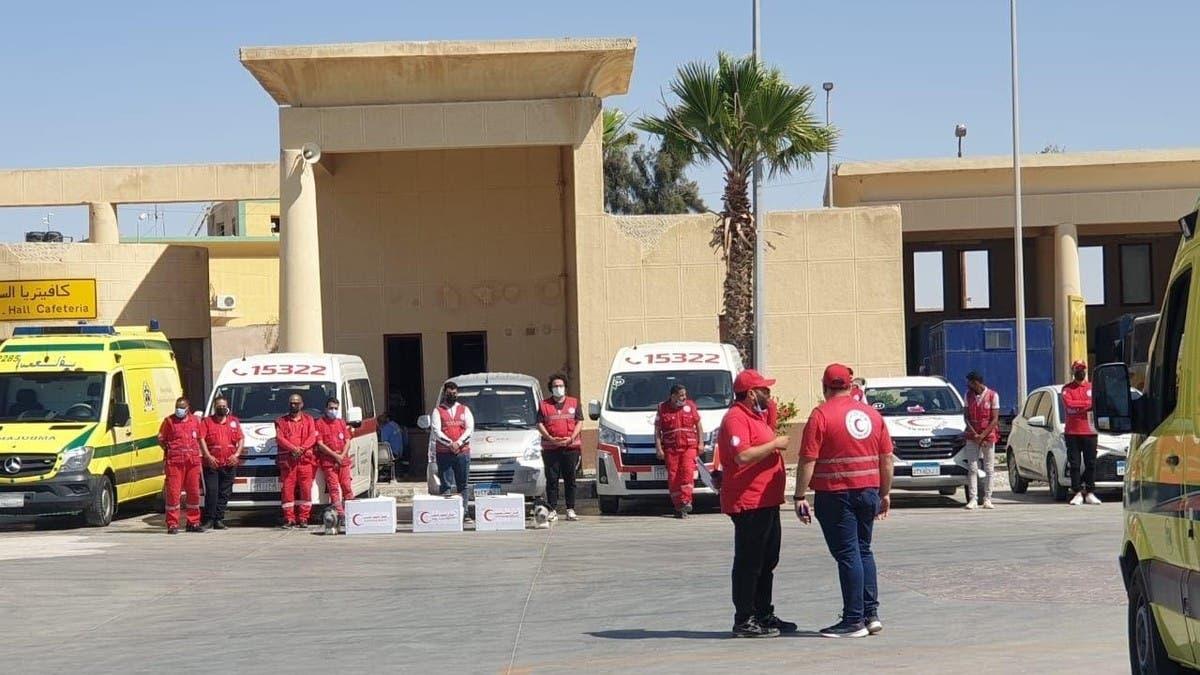 بالصور.. استعدادات قصوى شمال سيناء لإغاثة جرحى غزة