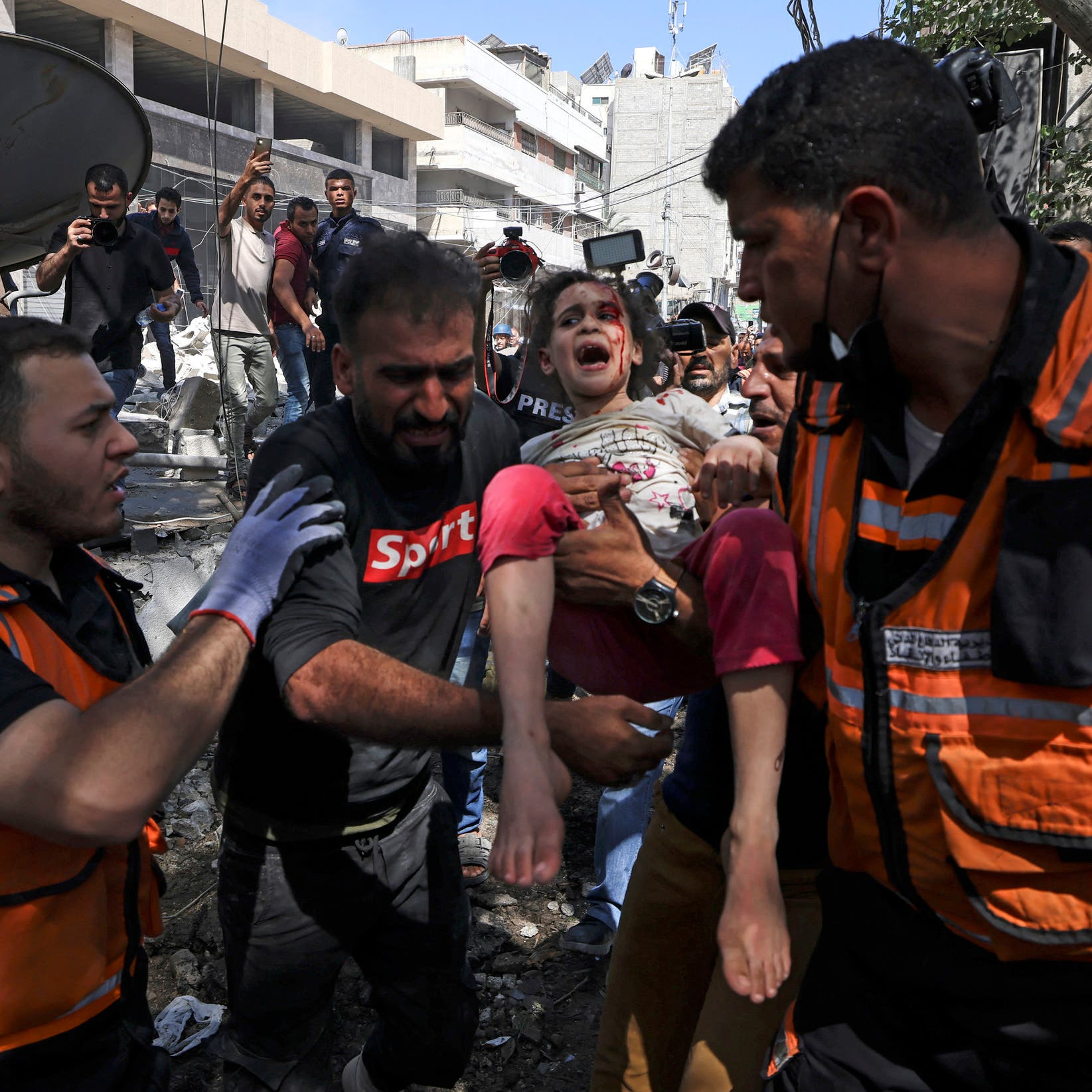 Three children injured in Israeli raids on Gaza every hour: Save the Children