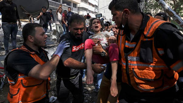 Death toll in Israeli attacks on Gaza rises to 213, including 61 children