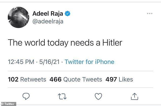 """تغريدة رجا التي تسببت له بأزمة مع """"سي. إن. إن"""""""