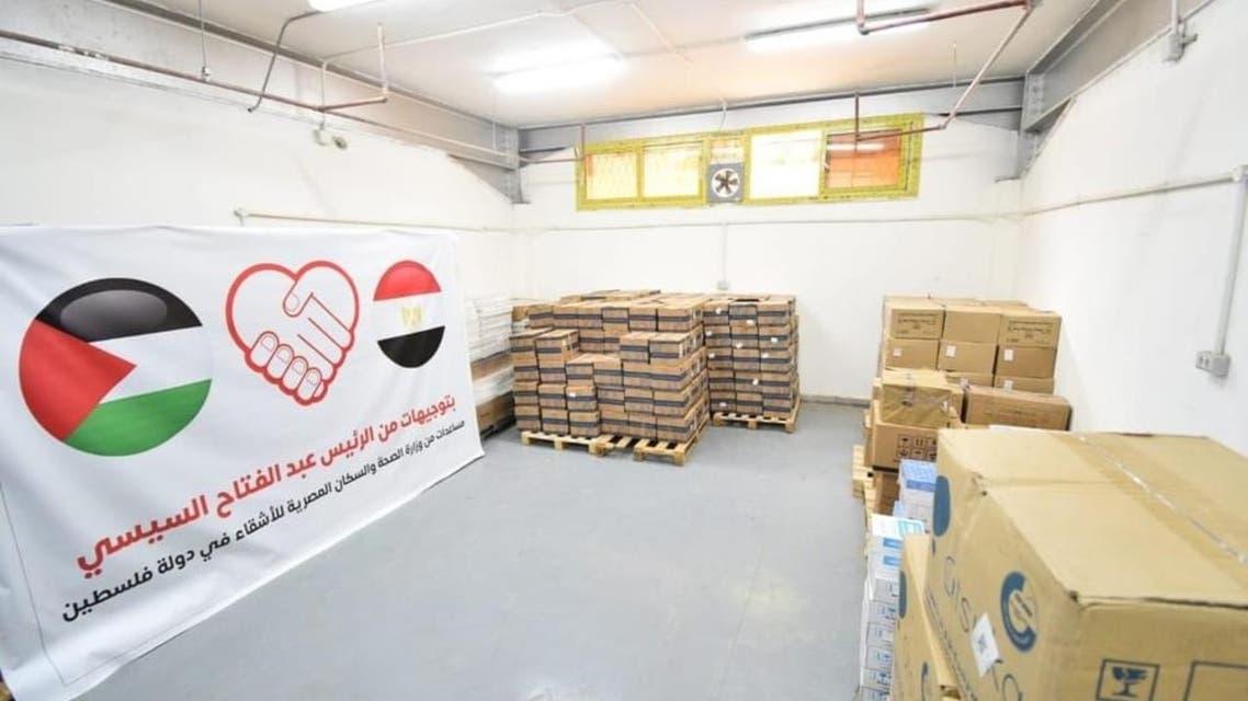 مساعدات طبية مصرية لجرحى غزة