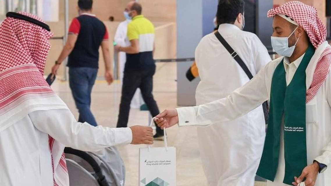 The first international flights resumed Monday from Saudi Arabia's King Khalid International Airport in Riyadh to Sarajevo International Airport, as the decision to lift the suspension on citizens traveling abroad took effect. (SPA)