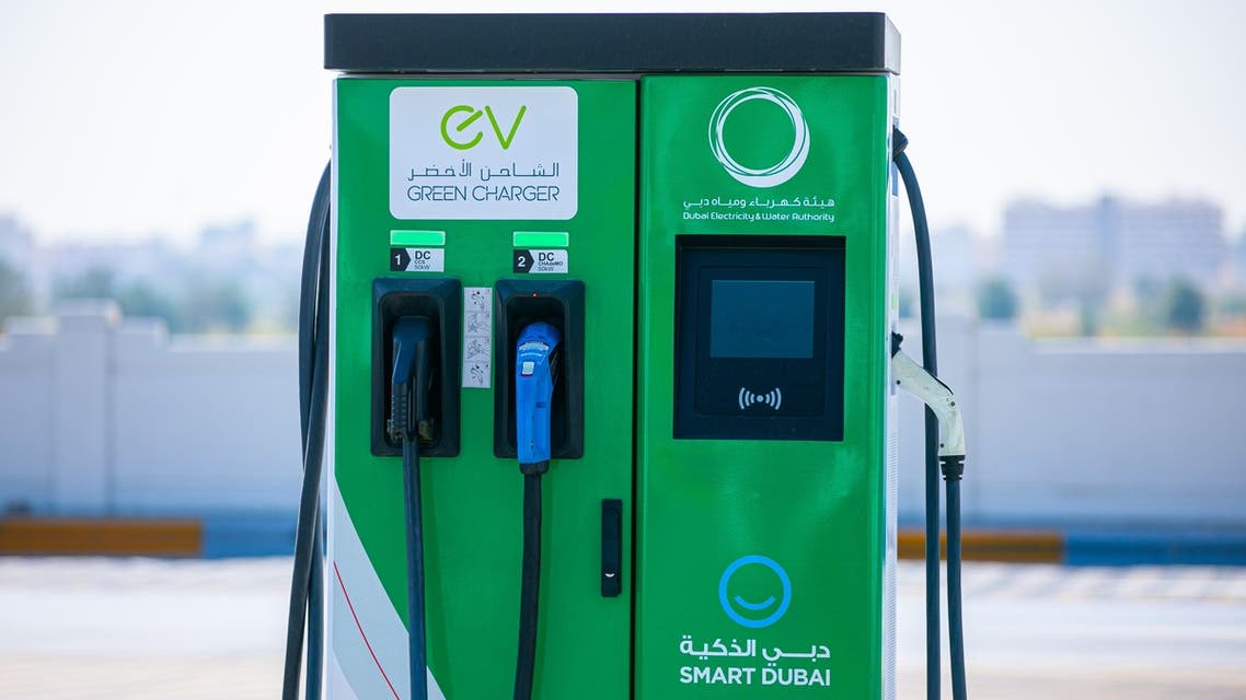 DEWA Green Charger for electric vehicles. (WAM)