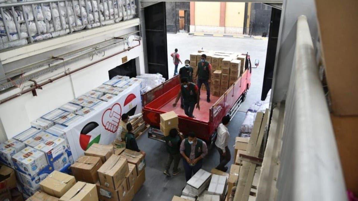 مصر: إرسال 65 طنًا من الأدوية لغزة و11 مستشفى لعلاج الجرحى