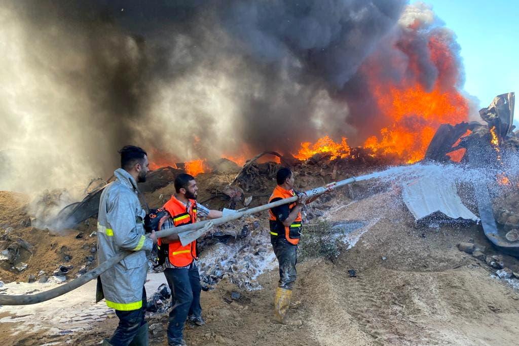 من غزة - رويترز