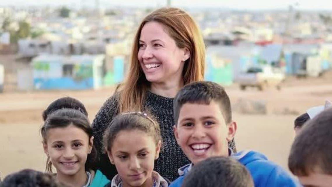 UNHCR appoints Lebanese TV presenter Raya Abirached as regional goodwill ambassador. (Reuters)