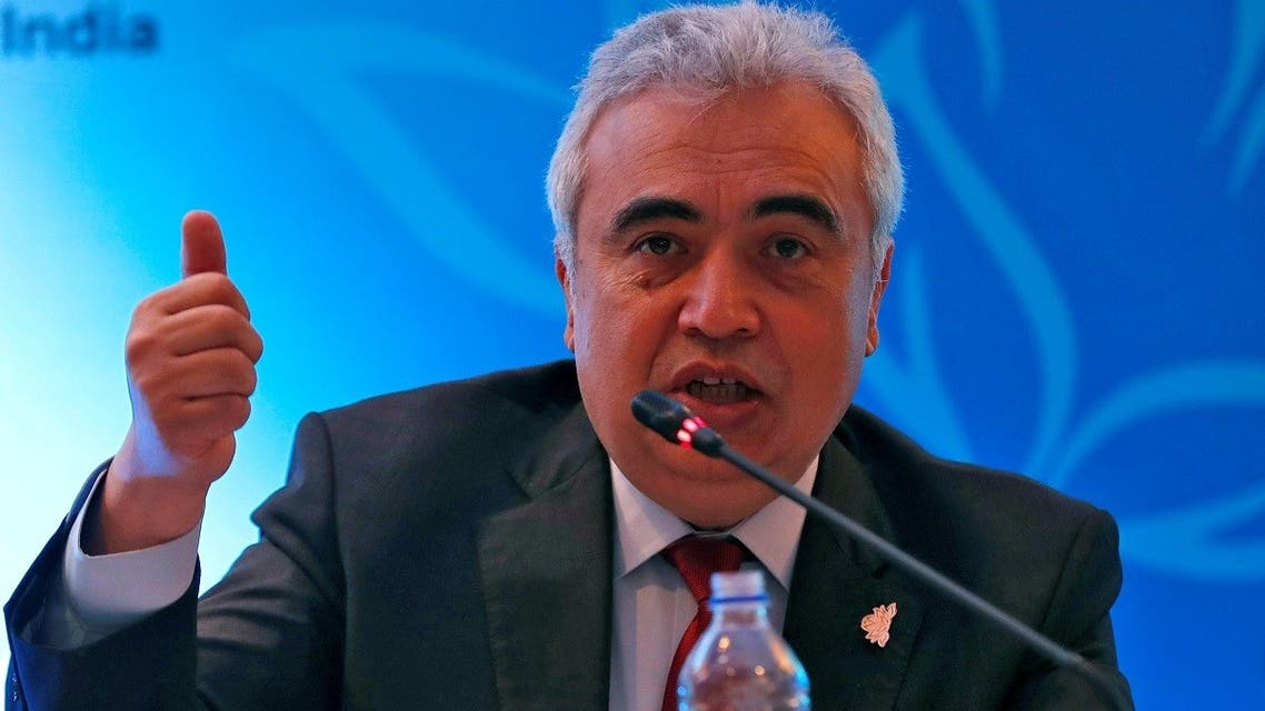 Fatih Birol, Executive Director of the International Energy Agency, speaks with the media during the International Energy Forum (IEF) in New Delhi, India. (File photo: Reuters)
