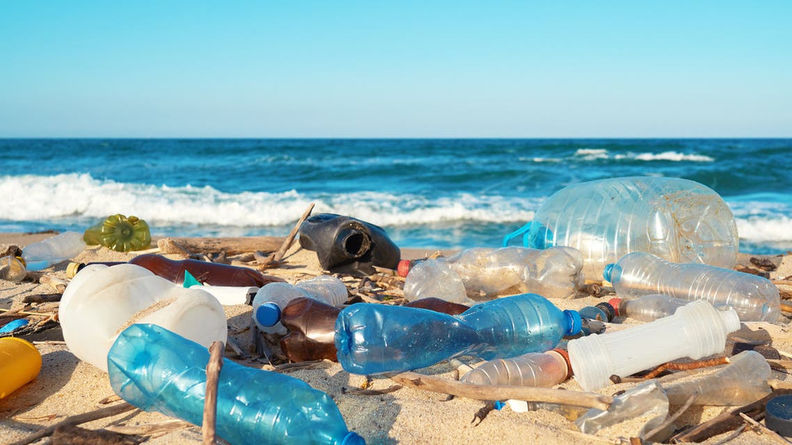 نفايات بلاستيكية