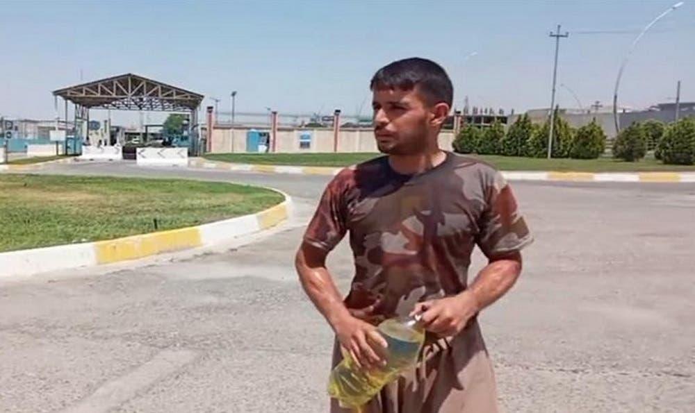 پناهجوی کرد ایرانی
