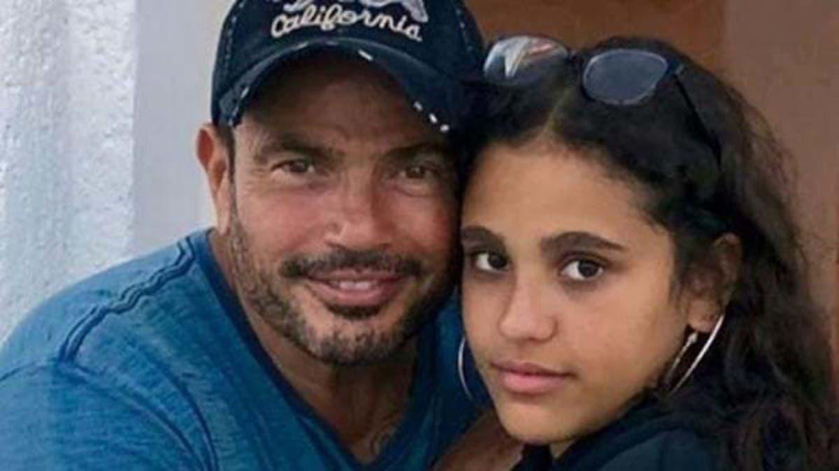 بعد طردها.. رسالة ابنة عمرو دياب لمدرستها في لندن!