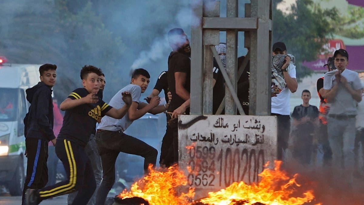 يوم غضب في الضفة.. ومواجهات مع القوات الإسرائيلية