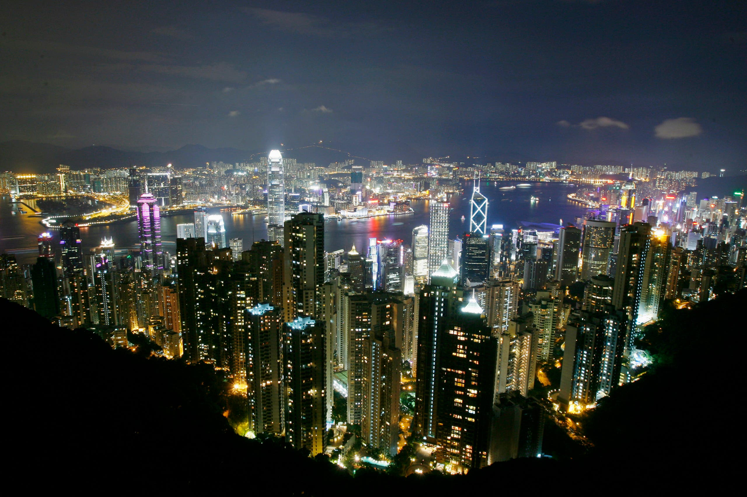 A file photo shows a general view of Hong Kong skyline. (Reuters)