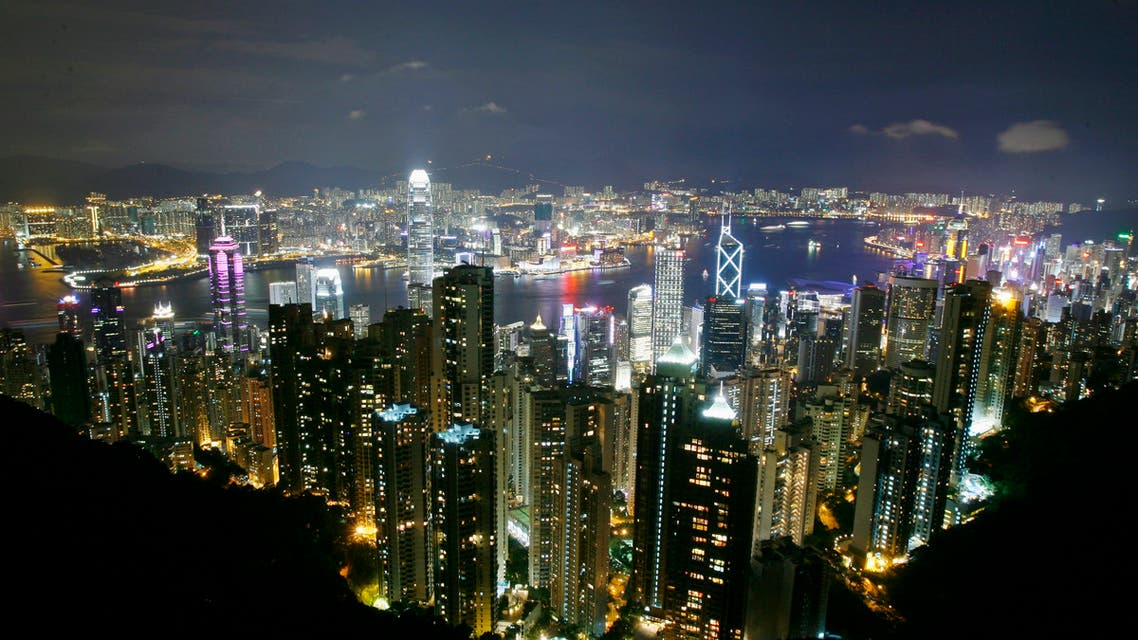 A general view of Hong Kong skyline seen from the Peak in Hong Kong in the evening of June 16, 2007, about two weeks before the 10th anniversary of Hong Kong's handover to China. (Reuters)