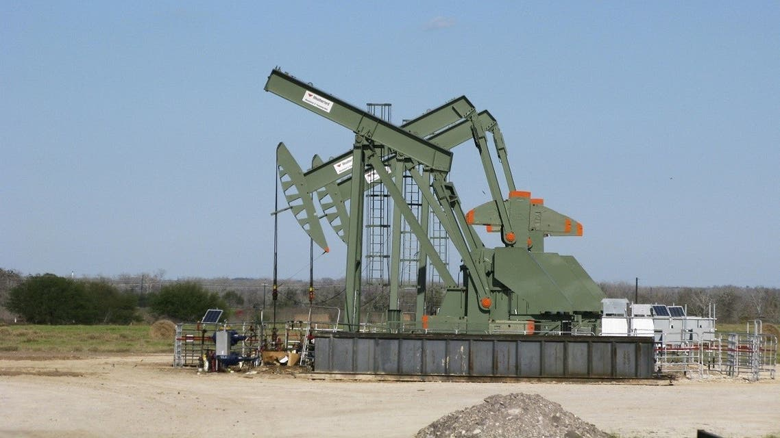 A pump jack stands idle in Dewitt County, Texas. (Reuters)