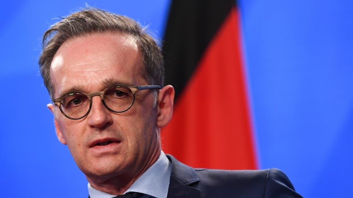 وزير الخارجية الألماني هايكو ماس في برلين يوم 6 مايو