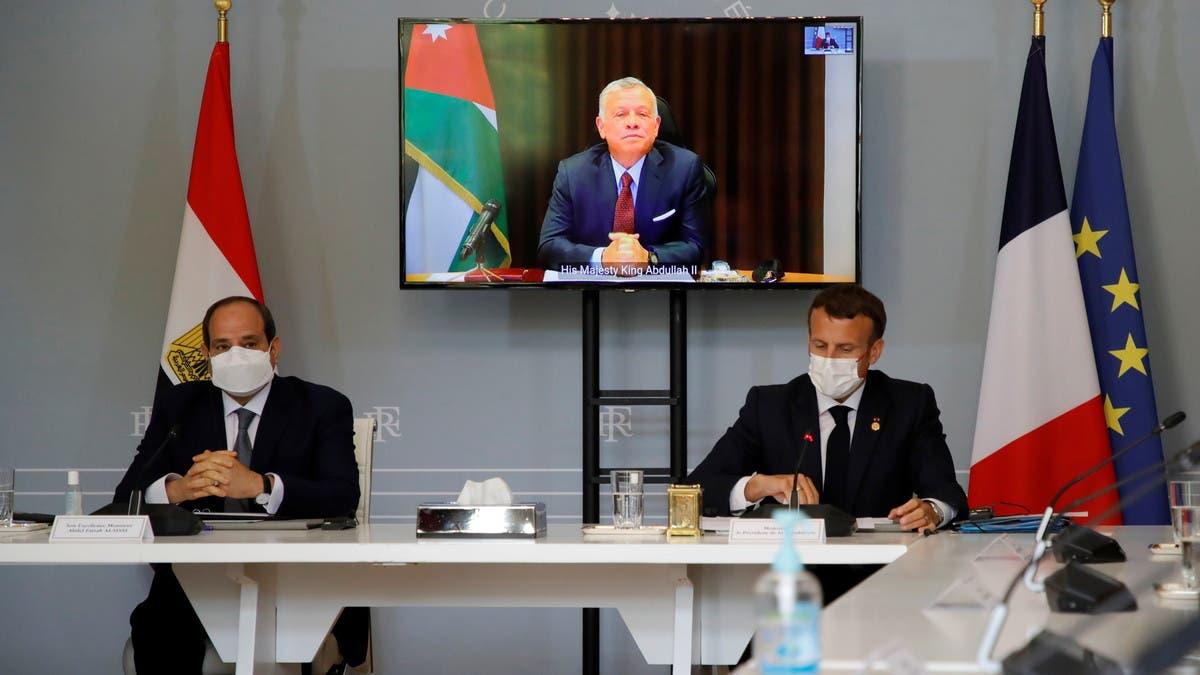 لمنع توسع النزاع.. قمة بين فرنسا ومصر والأردن حول غزة
