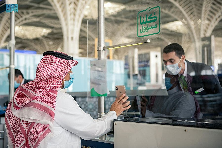 Saudi Arabia's national carrier Saudia Airlines resumes operating its international flights to 30 international destinations around the world after the Kingdom's decision to lift the suspension on citizens traveling abroad took effect. (SPA)