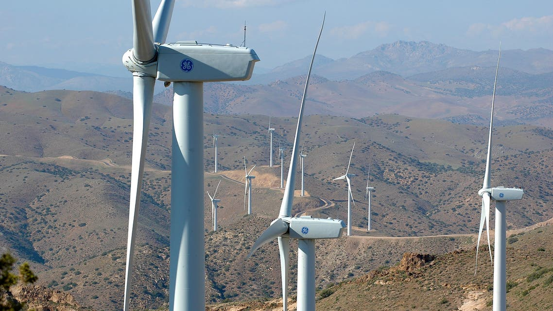 Wind turbines. (Image: General Electric)