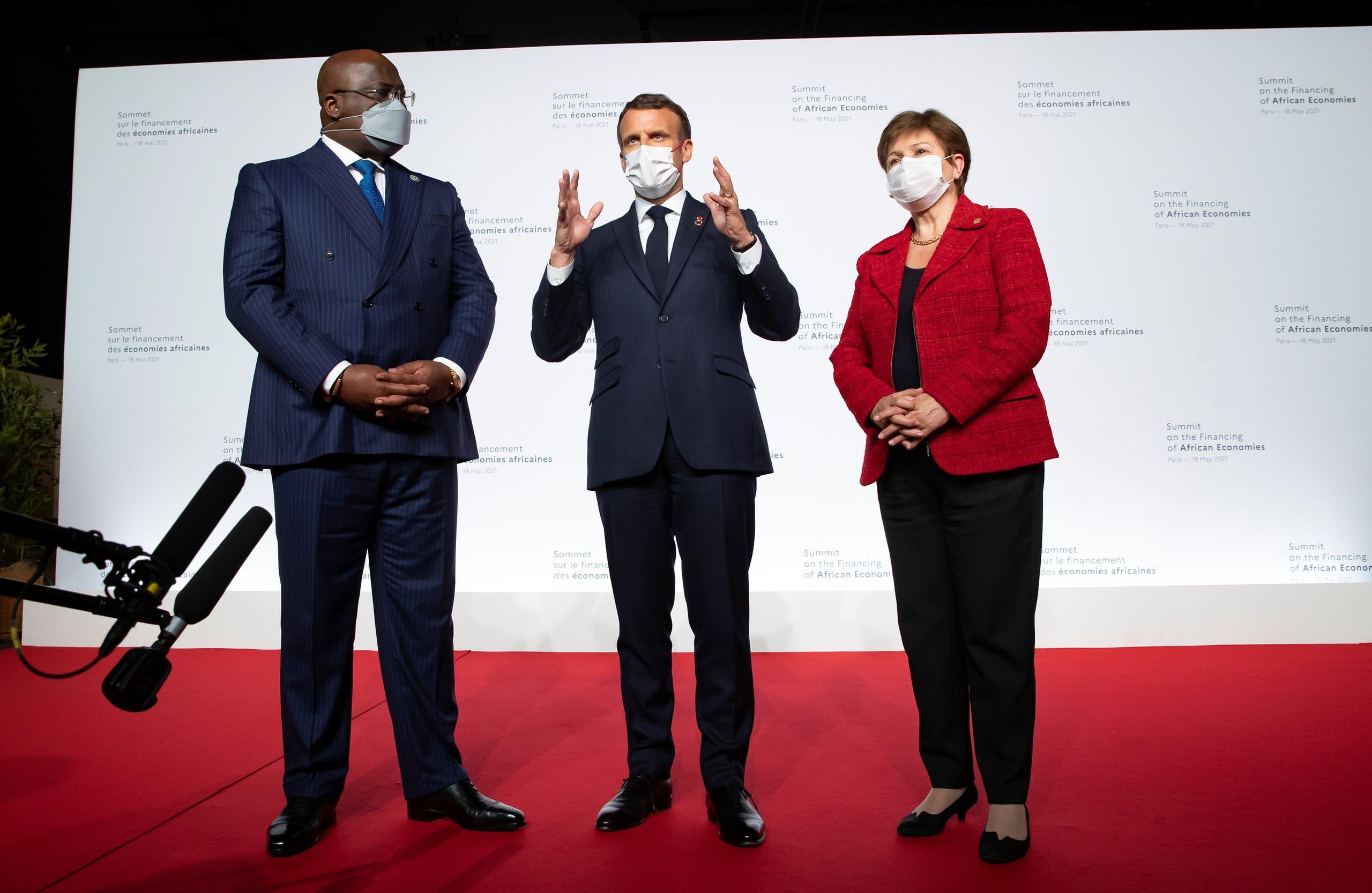 جانب من فعاليات مؤتمر باريس