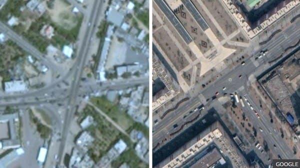"""لماذا تظهر غزة ضبابية في """"خرائط غوغل""""؟"""