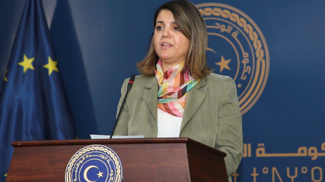 وزيرة الخارجية الليبية نجلاء المنقوش(أرشيفية- فرانس برس)