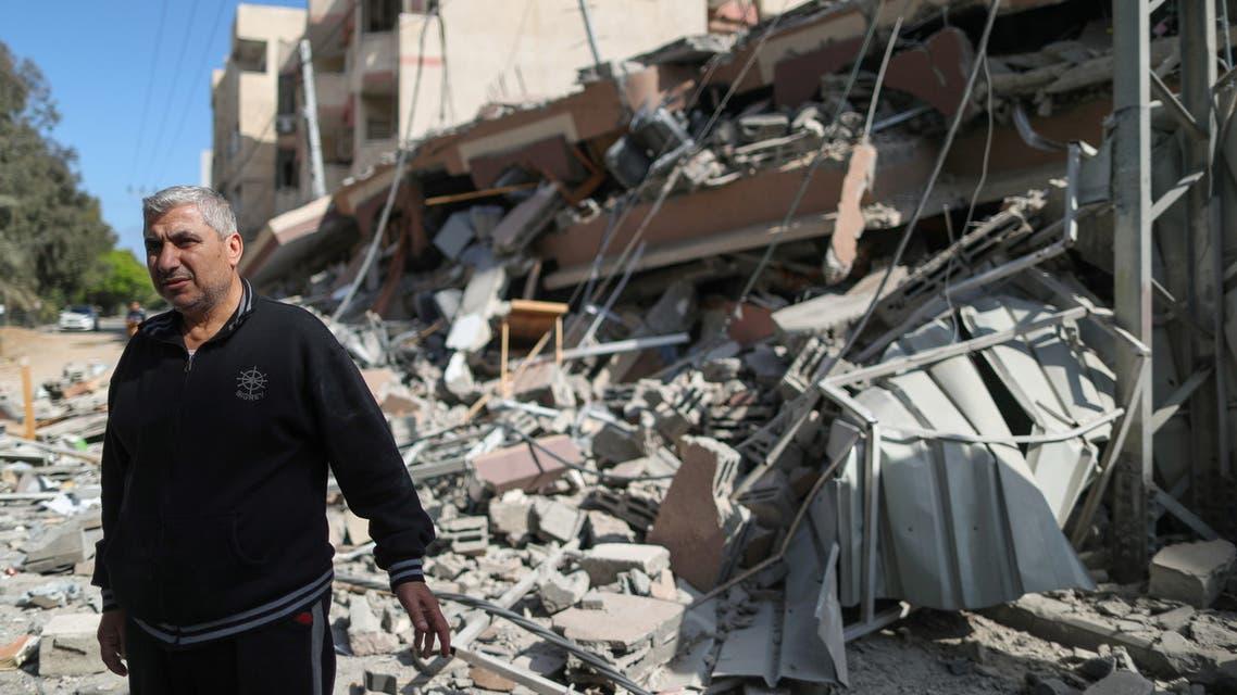 دمار وركام في غزة (رويترز)