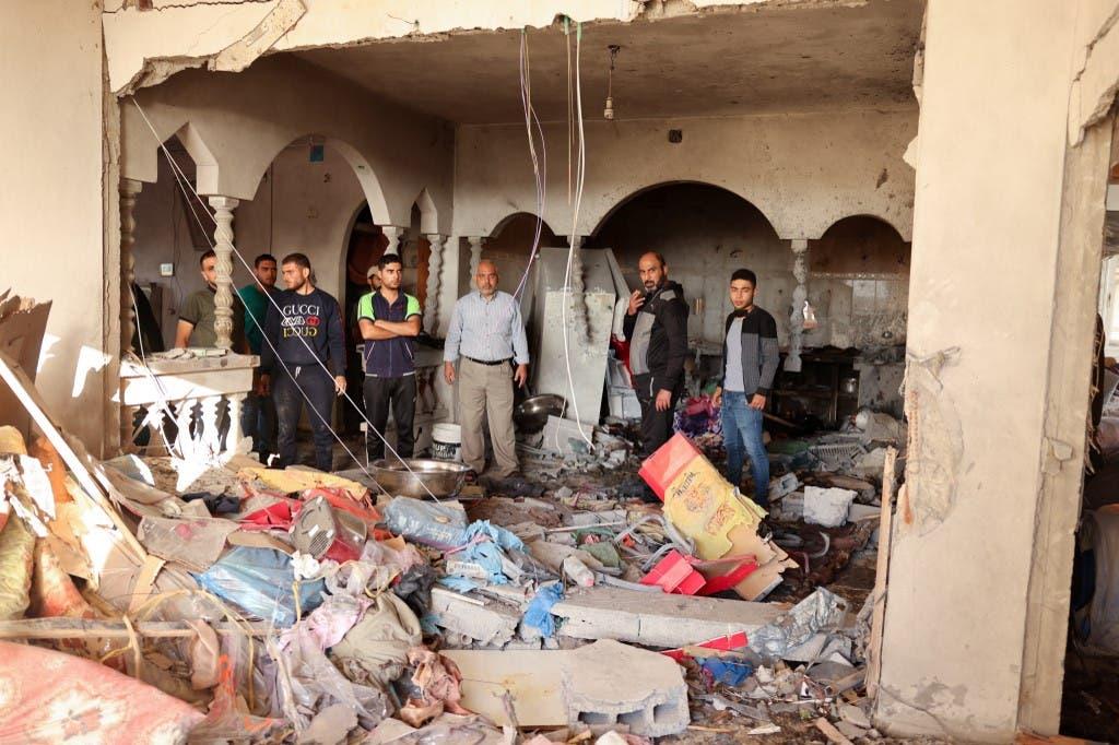 دمار في غزة نتيجة القصف الإسرائيلي
