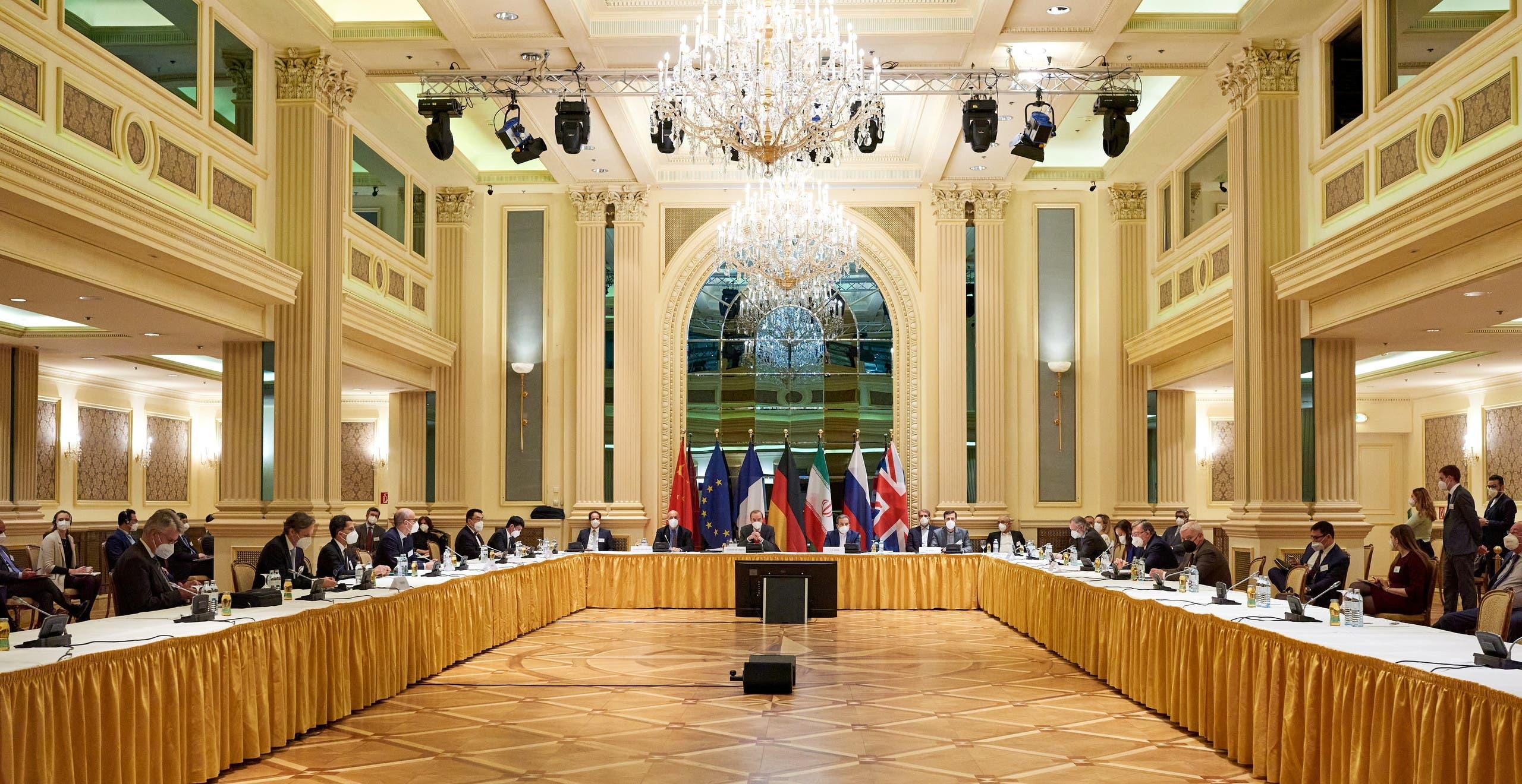 من اجتماعات فيينا حول نووي إيران(أرشيفية- رويترز)