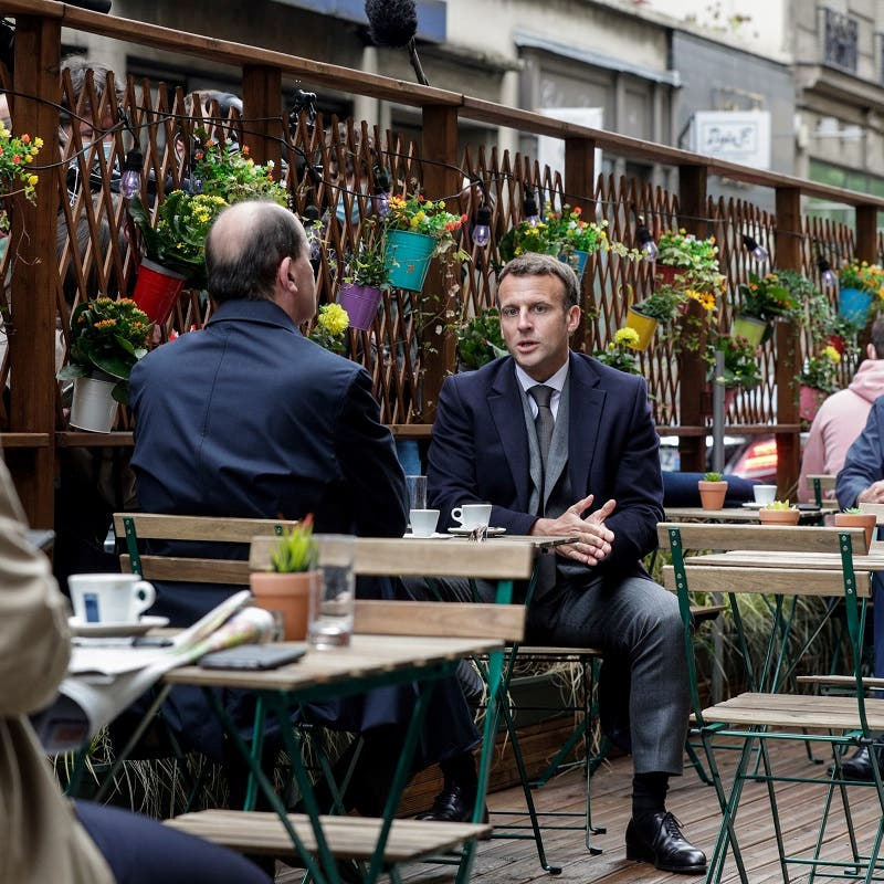 Grand day for the French: After six-month lockdown, cafe and bistro terraces reopen