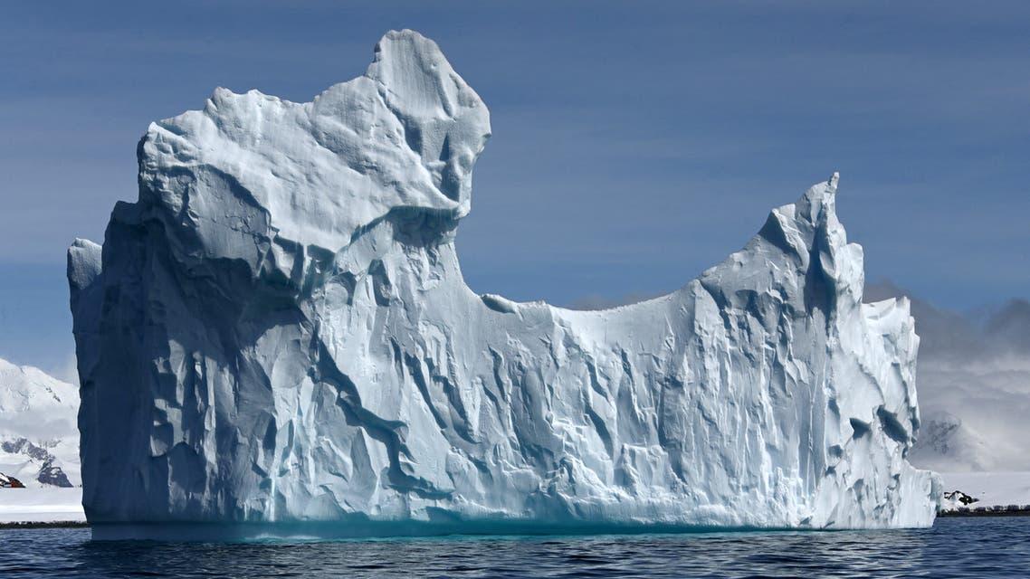 View of an iceberg on Half Moon island, Antarctica on November 09, 2019. (File photo: AFP)