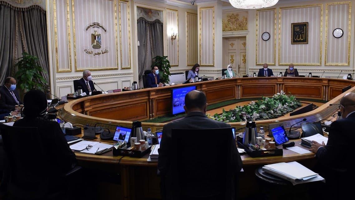 اجتماع مجلس الوزراء المصري 19 مايو 2021