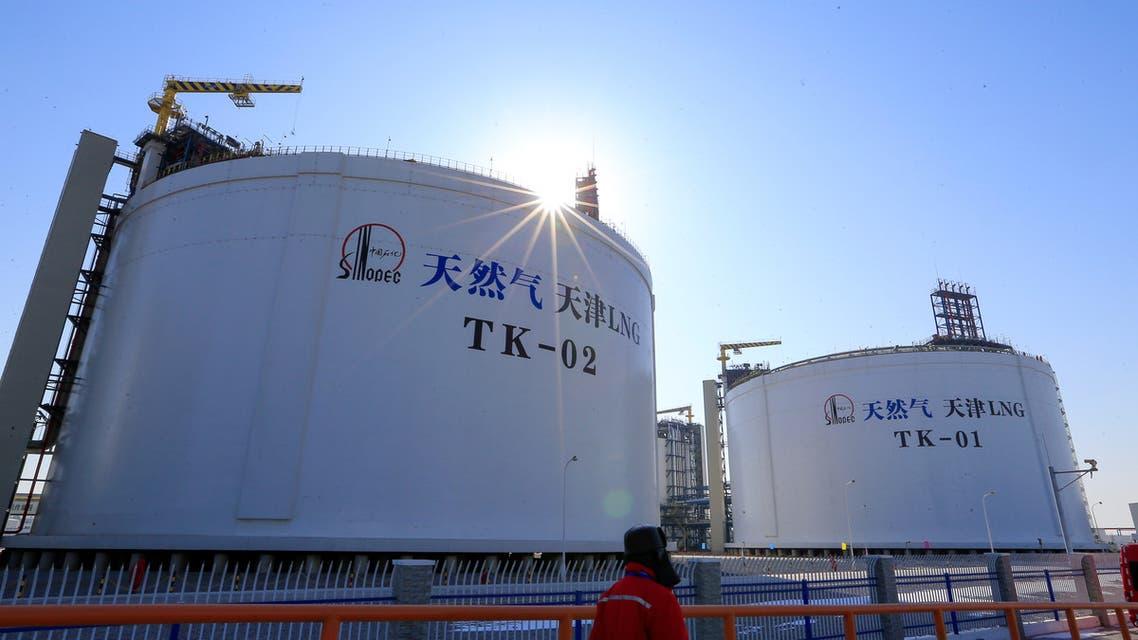 منشأة للطاقة تابعة لشركة سينوبك الصينية