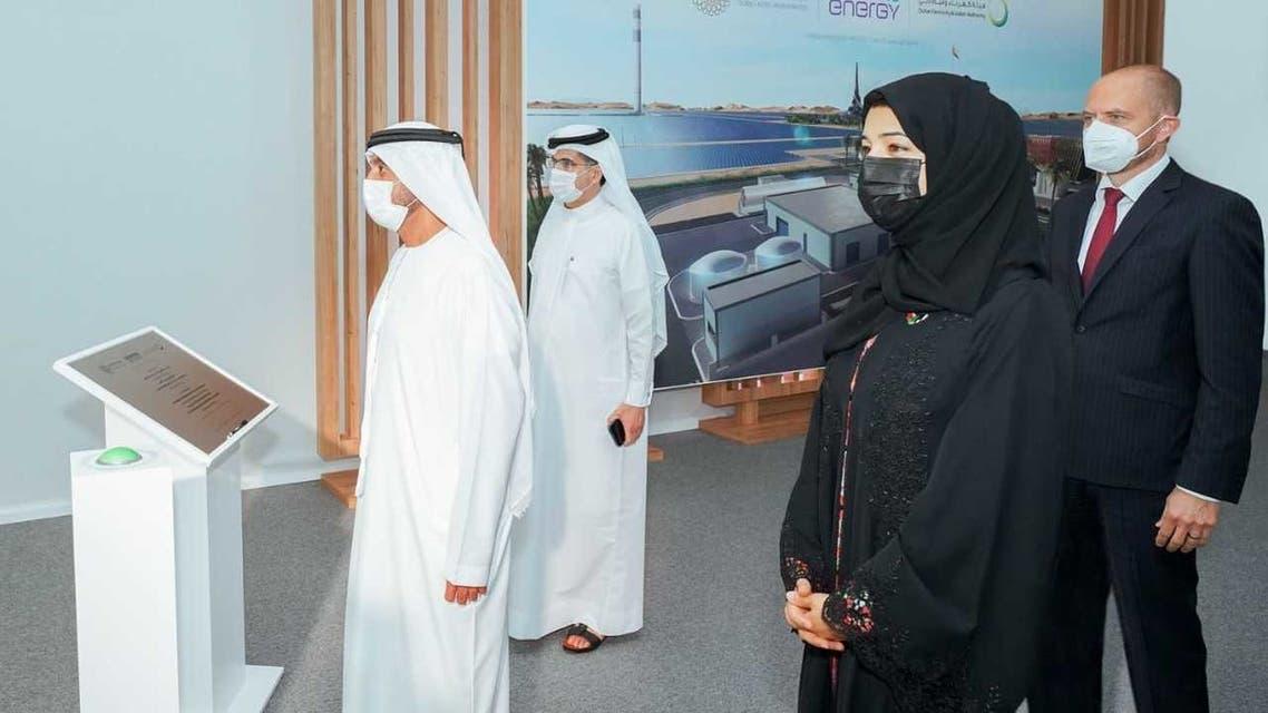 دبي تدشن مشروع الهيدروجين الأخضر