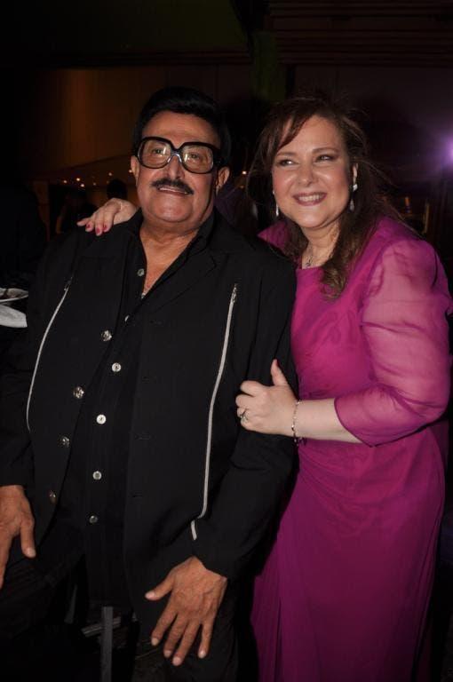 سمير غانم وزوجته دلال عبدالعزيز