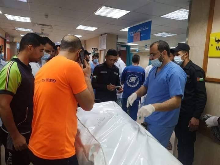 الضحايا في المشفى