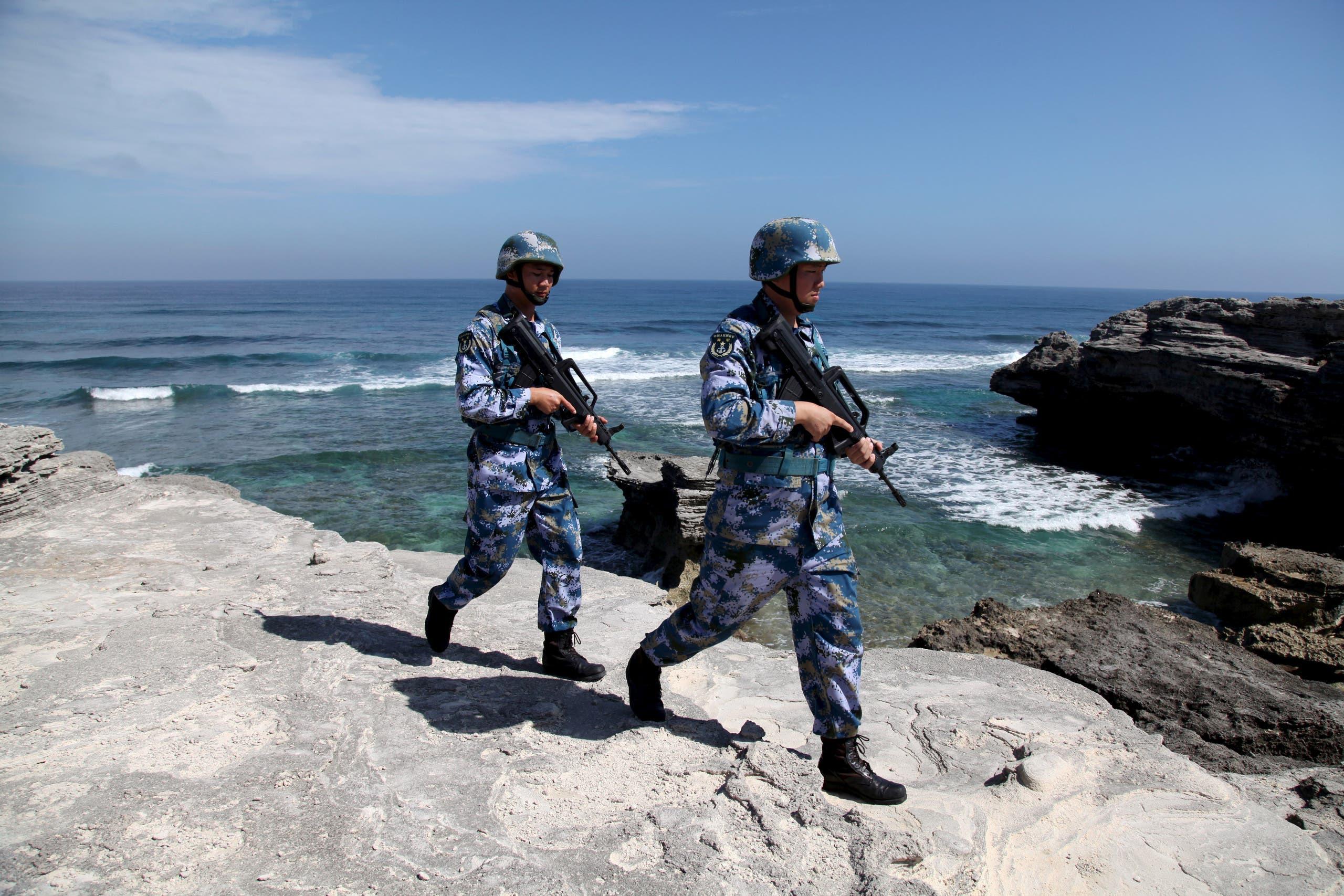 جنود صينيون في جزر باراسيل (أرشيفية)