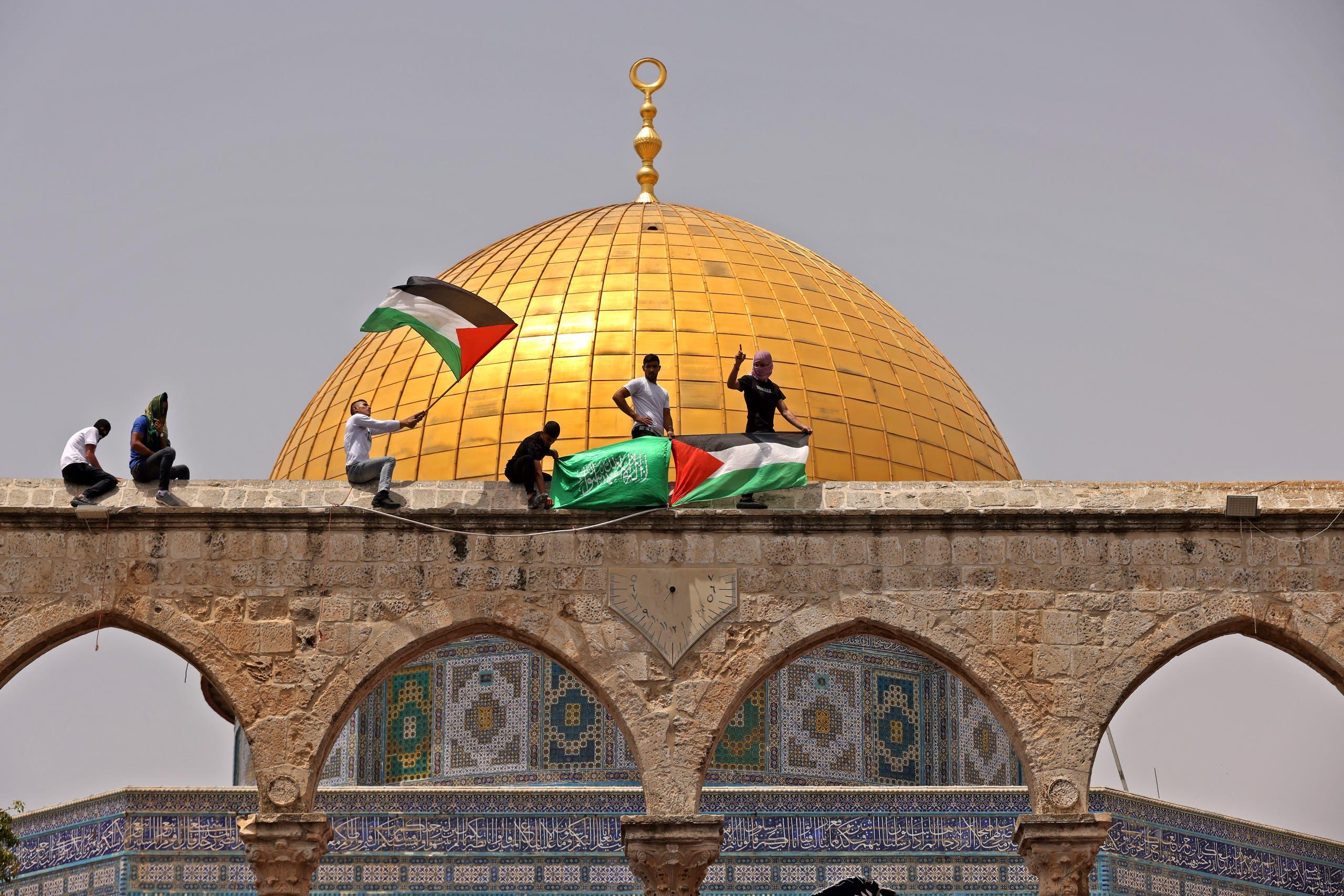 من محيط المسجد الأقصى (أرشيفية)