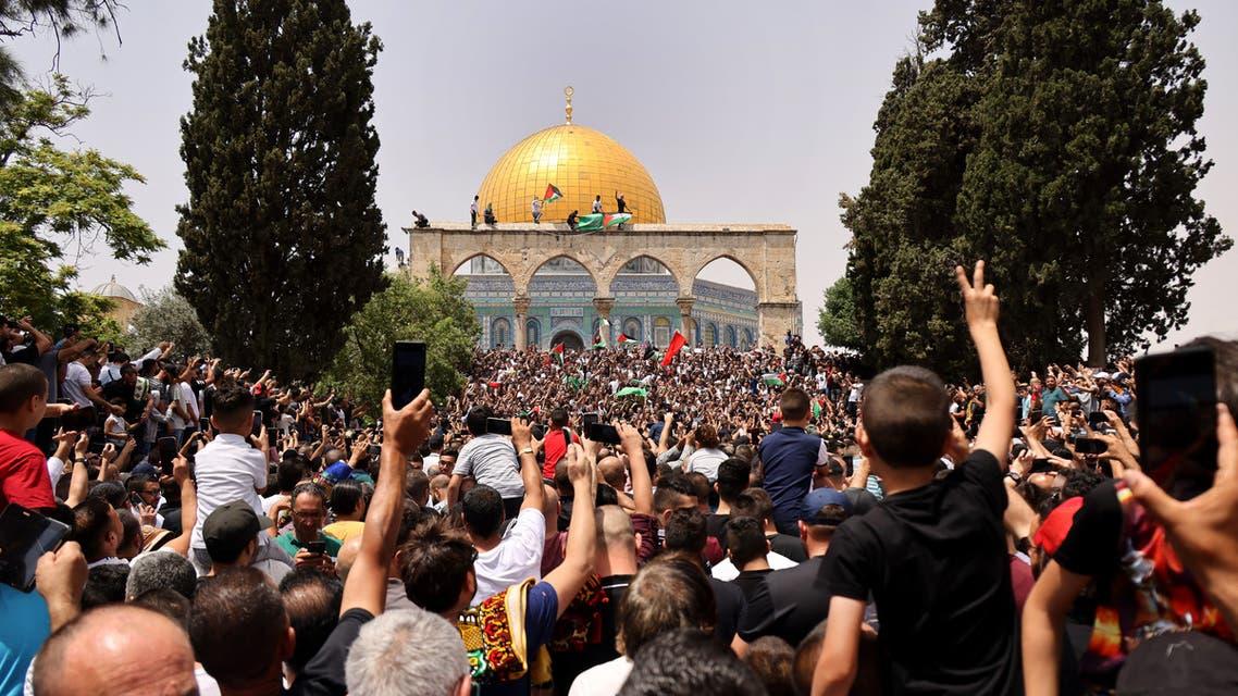 محيط المسجد الأقصى الجمعة