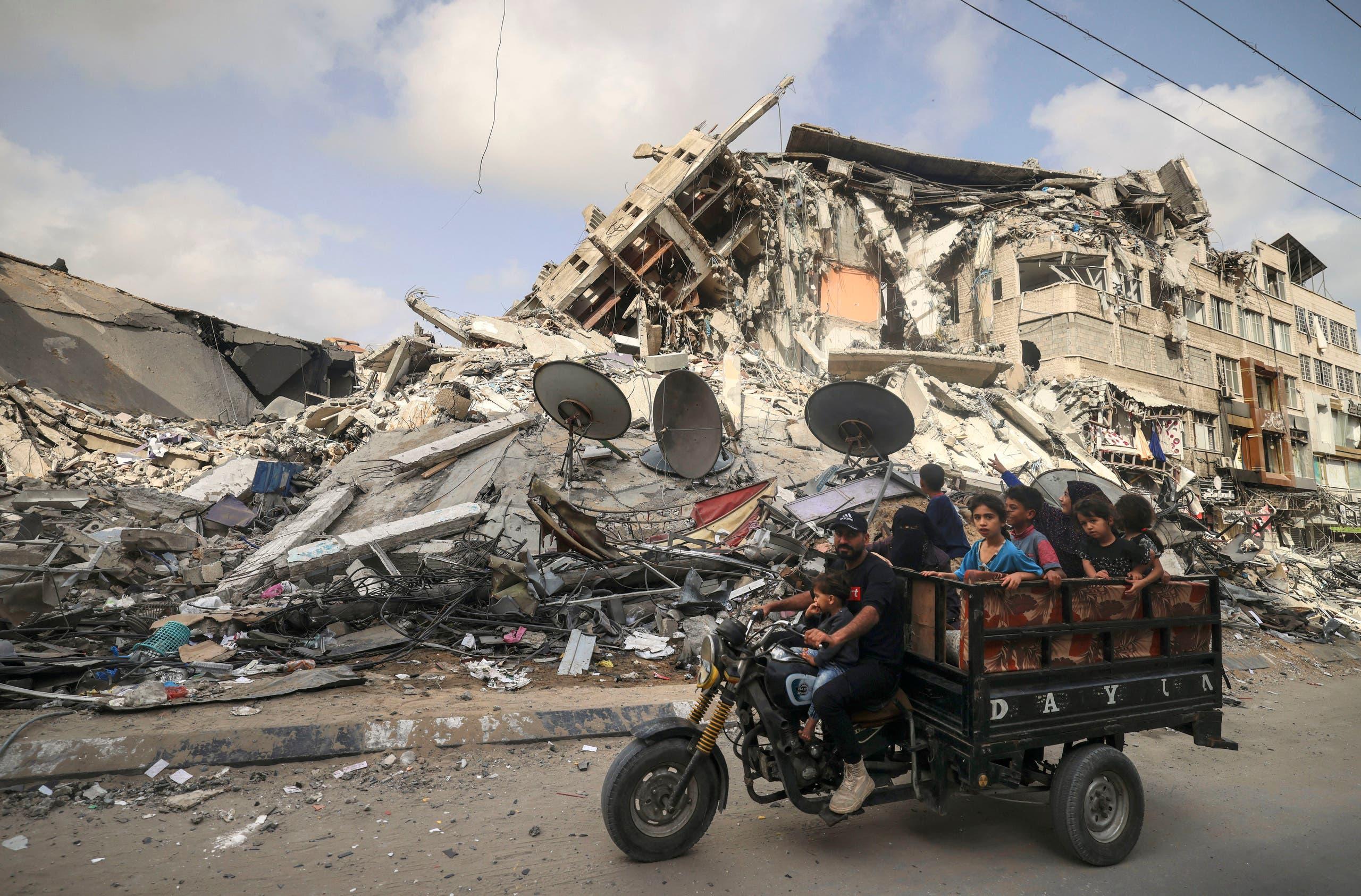 من غزة يوم 21 مايو