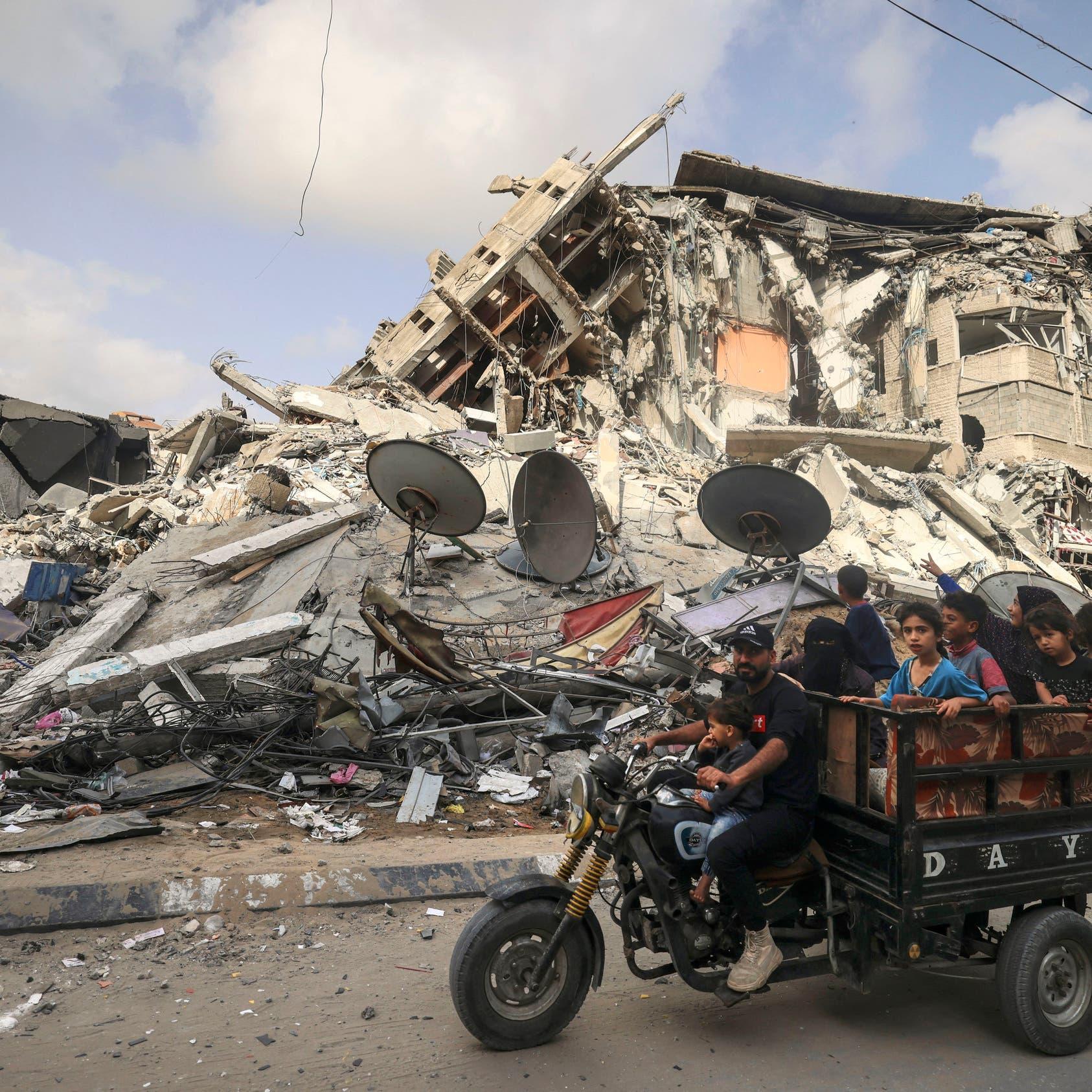 جهد مصري سعودي أردني تمكن من إقرار هدنة غزة