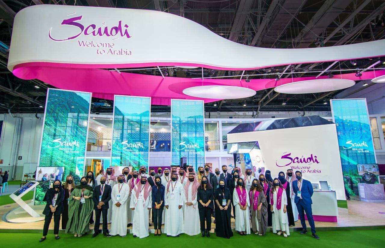 المعرض السعودي المشارك في سوق السفر العربي بدبي