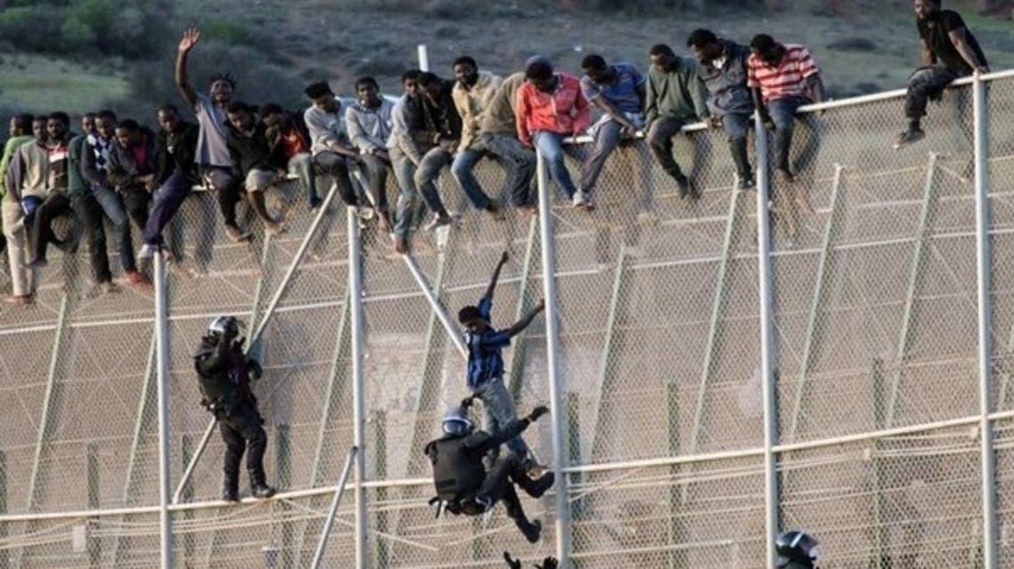 المغرب مهاجرون هجرة غي شرعية سبتة