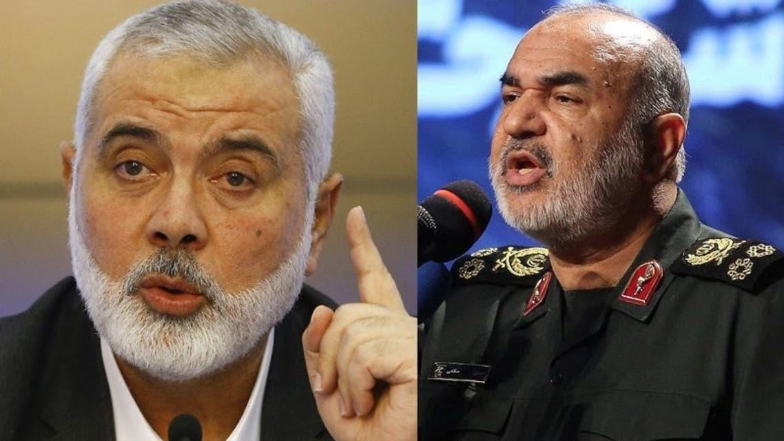 حسين سلامي و إسماعيل هنية