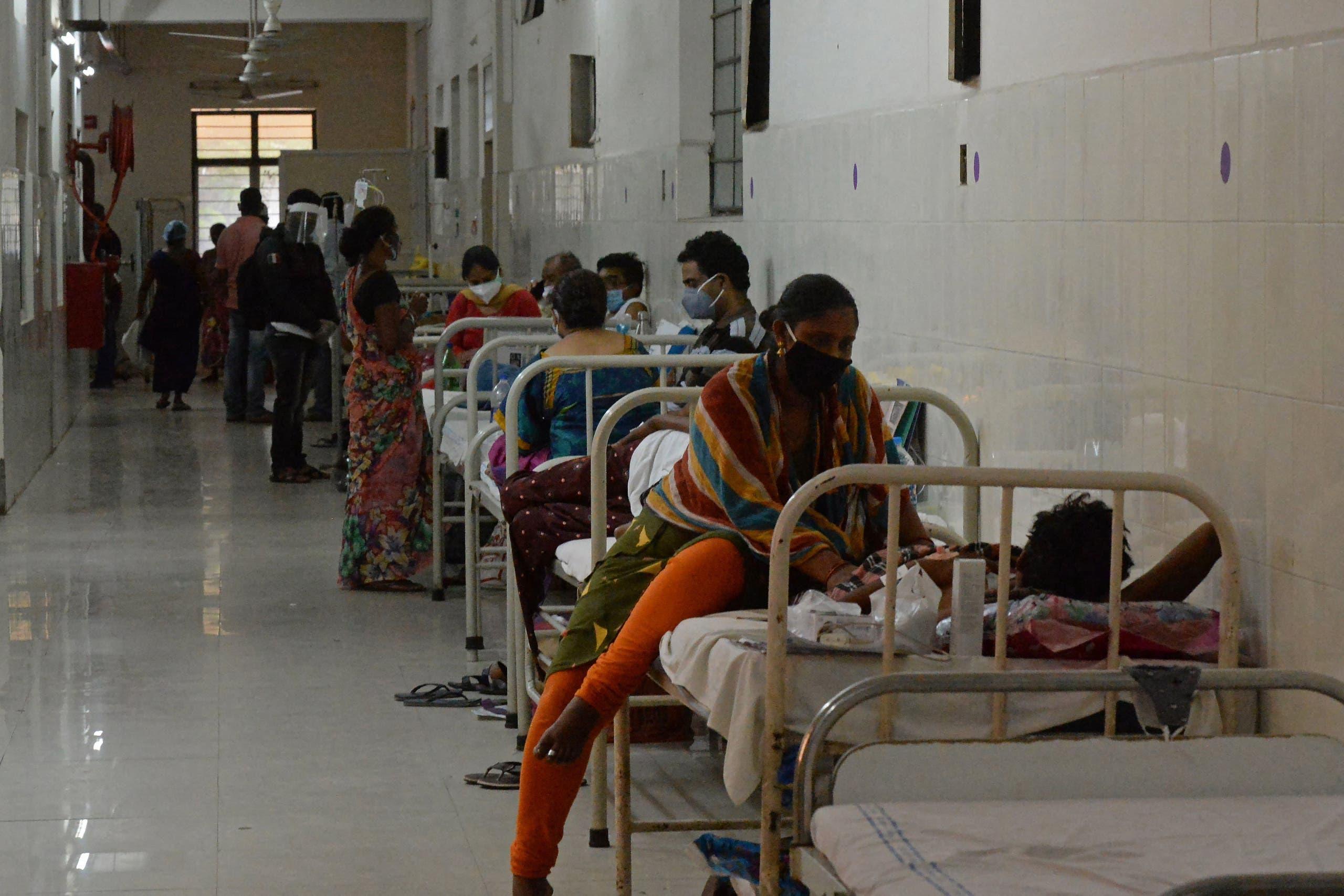 تخصيص جناح في مستشفى في حيدر أباد للمصابين بالفطر الأسود