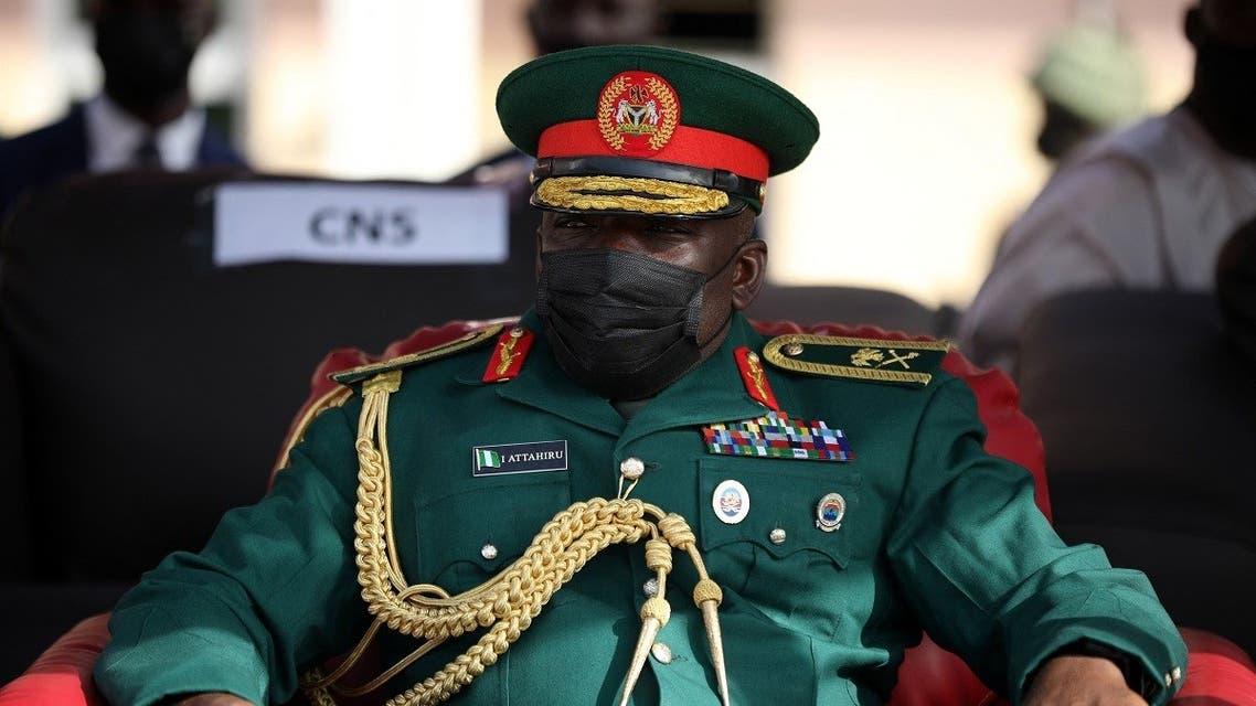 A picture taken on January 29, 2021 show Nigerian Chief of Army Staff, Lieutenant General Ibrahim Attahiru. (AFP)