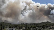 Firefighters battle forest fire near Greece's Athens for third day